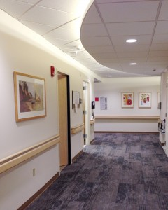 Concord Hospital Newly Renovated Patient Care Unit