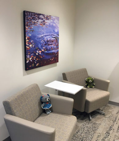 The project was coordinated and installed by amanda mcgowan lacasse corporate art consultant with mcgowan fine art helping a fabulous interior design firm