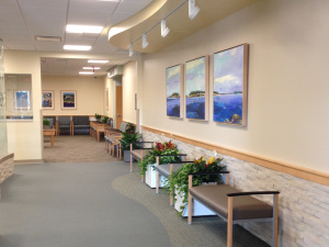 Southern Maine Health Care Chose To Feature Original Work By Artists In The Public Waiting Areas Of Building Reflective Their Strong